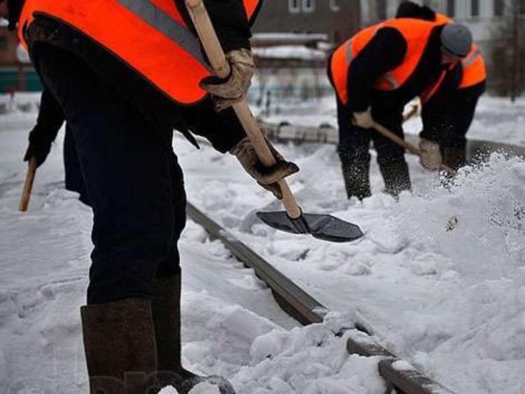 Как Балавтодор дороги от снега убирал