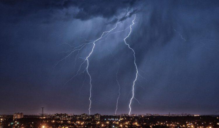 Погода в Балаково на воскресенье вроде как опять гроза