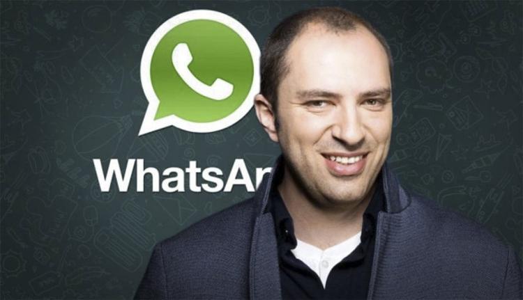 WhatsApp Ян Кум Миллиардер из хрущоб