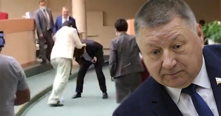 Александр Романов о драке в Саратовской облдуме Отдельные парламентарии не справились с эмоциями