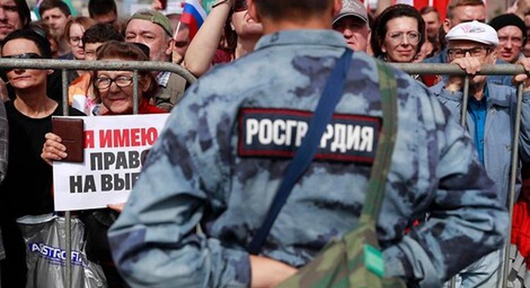 Около половины россиян ожидают массовых протестов в связи тяжелой экономической ситуацией из-за коронавируса