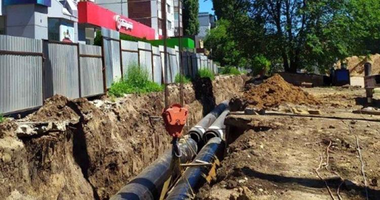 Ремонт трубопровода на Трнавской в Балаково закончится в День знаний