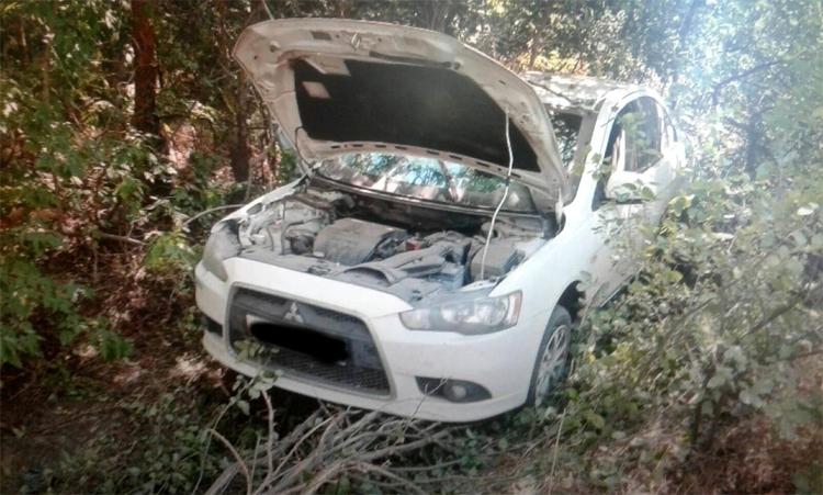 В ДТП под Ивановкой пострадали две пассажирки Виновник с места происшествия скрылся