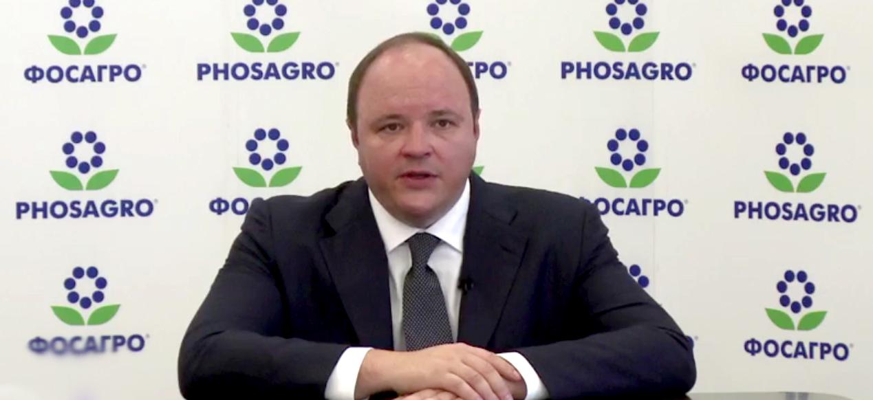Генеральный директор ПАО ФосАгро Андрей Гурьев обратился к работникам предприятий компании