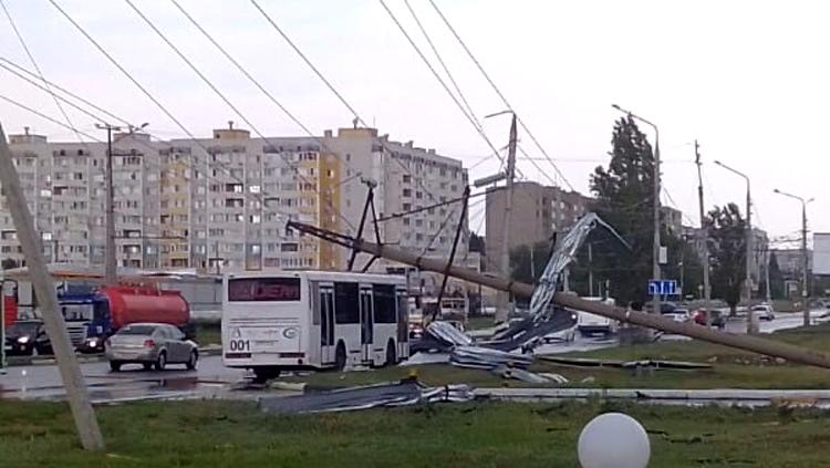 Последствия страшного урагана в Балаково фоторепортаж