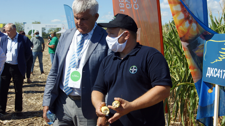 День поля на балаковской земле АО Апатит впечатлил фермеров Саратовской области