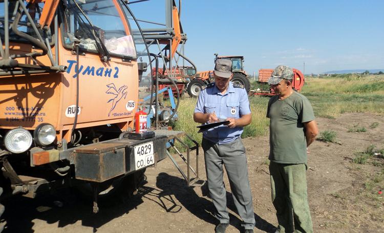 Сегодня в Балаковском районе стартует операция Трактор