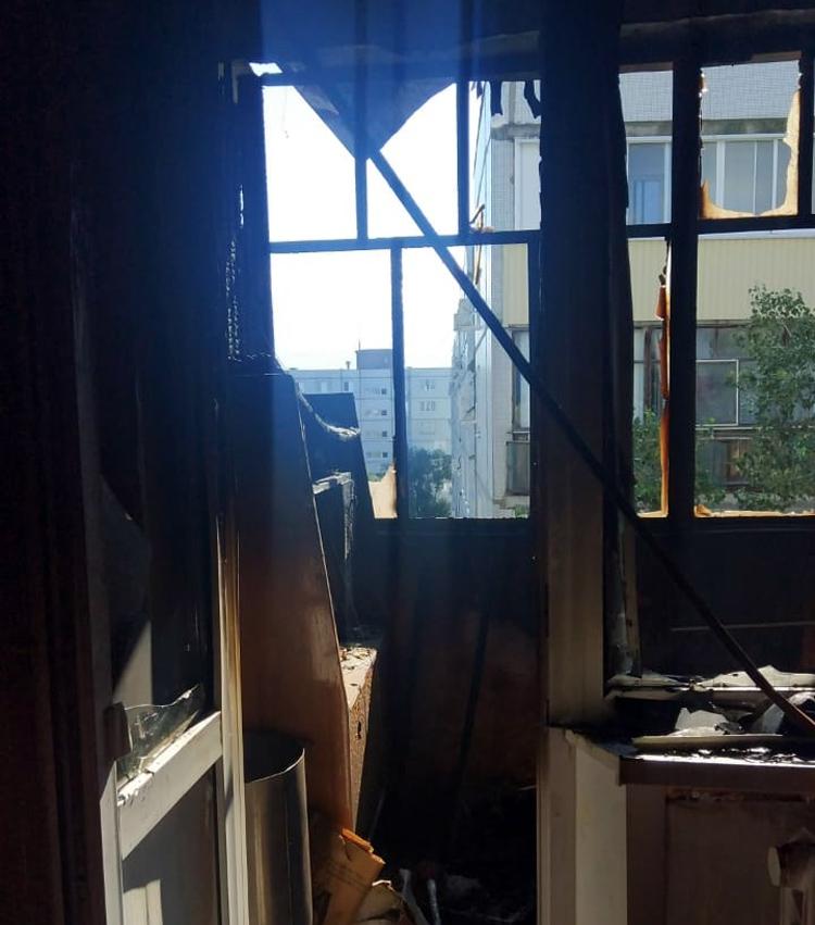 В Балаково только что на Комсомольской погорело несколько квартир