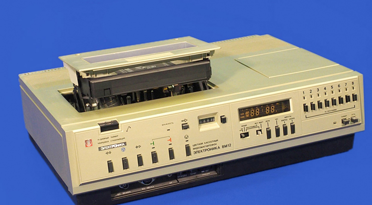 Купим старые видеомагнитофоны производства СССР