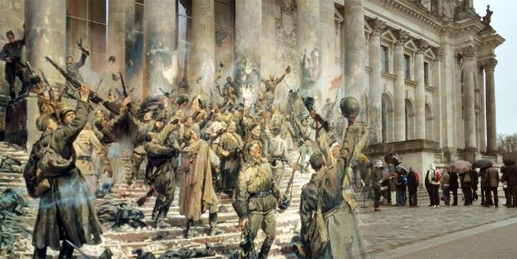 А немцы лезли пьяные их подпаивали для храбрости