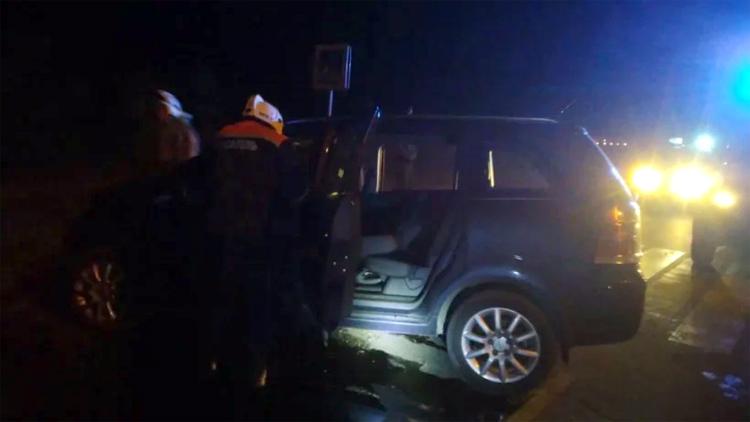 Новая жертва трассы-убийцы у Натальино очередной автомобиль врезался в столб