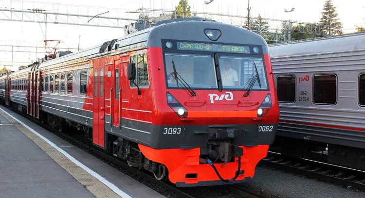 Пригородный поезд Балаково – Ершов меняет расписание