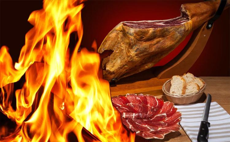 В Петербурге два дня жгли 46 тонн сыра сливочного масла и хамона