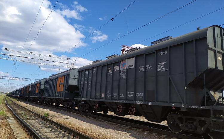 Из Саратовской области вывезено по железной дороге полтора миллиона тонн зерна