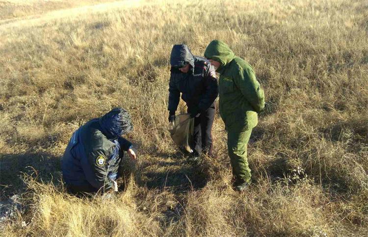 Около Хлебновки в Балаковском районе нашли кости погибшей женщины