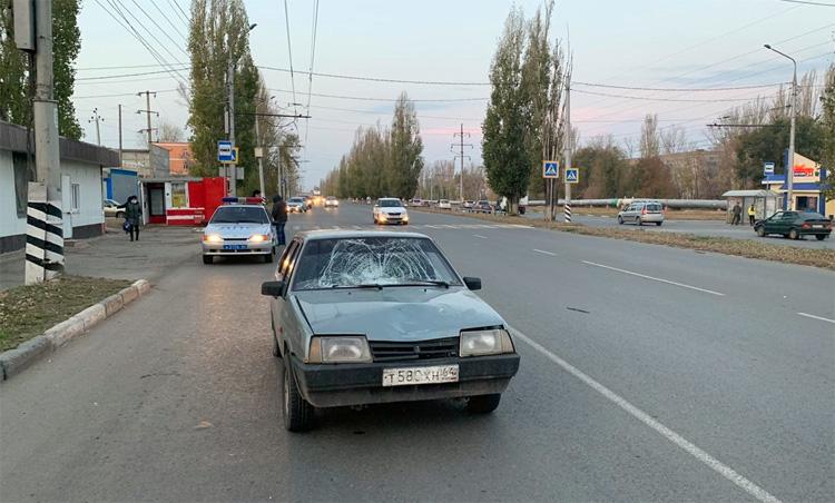Сегодня утром в Балаково сбили женщину-пешехода