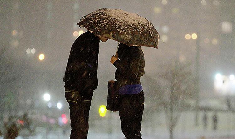 Погода в Балаково на неделю снег снег снег зима за облаками