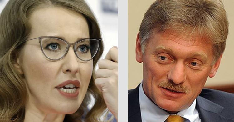 Собчак с Песковым разгромили статью о «внебрачной дочери» Путина