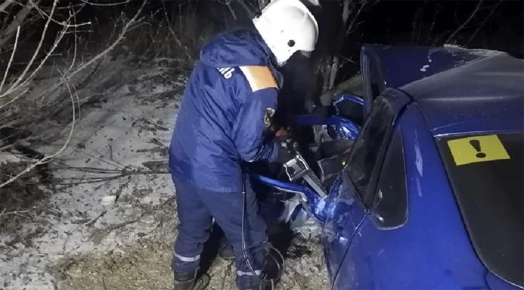 На трассе от Балаково до Энгельса в страшном ДТП погибли три человека