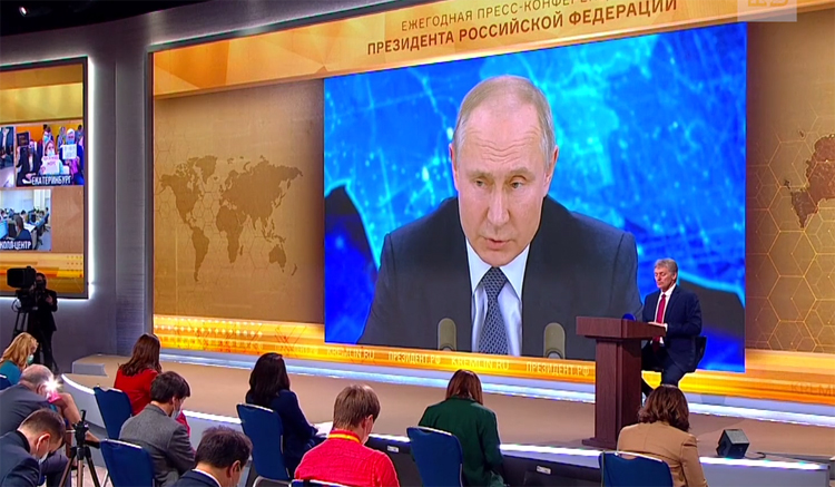 Пресс-конференция Путина акулы пера нынче не те