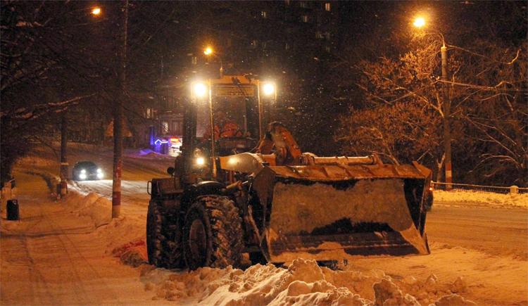 Ночью в Балаково будут чистить дороги