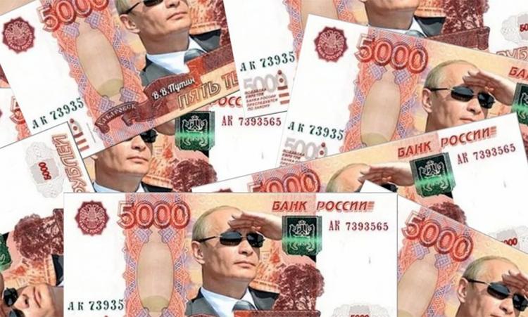 «Налетай, не ленись, выбирай живопись» Изображение Владимира Путина предложили поместить на деньги