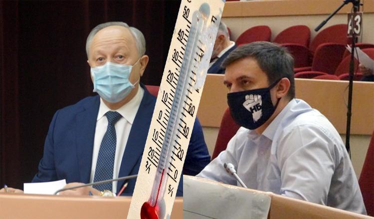 Мороз как и маразм крепчает Радаев обещал пнуть Бондаренко а депутаты признали коммуниста коррупционером за популярность на «Ютубе»