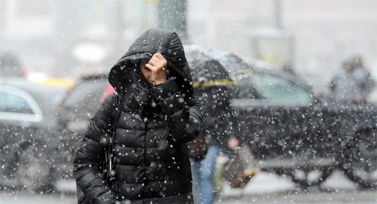 Погода в Балаково 2 февраля сильный снег с дождем