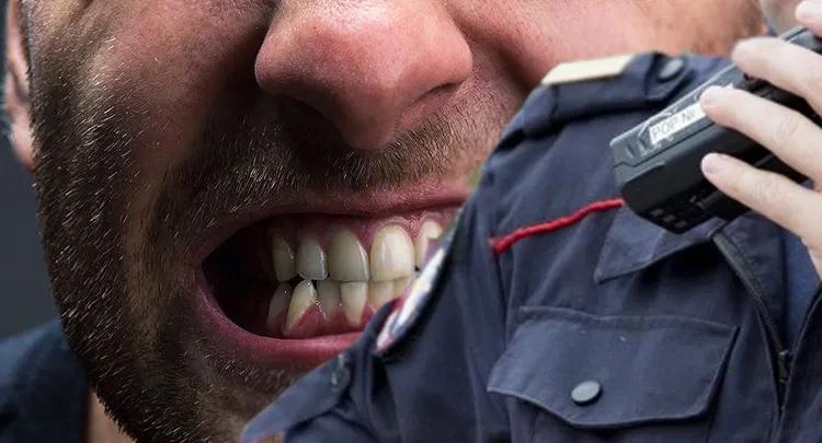 Балаковца укусившего полицейского приговорили почти к 4 годам колонии строго режима