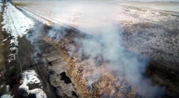 Следственный комитет заинтересовался горящей шелухой в Балаковском районе после сюжета на НТВ