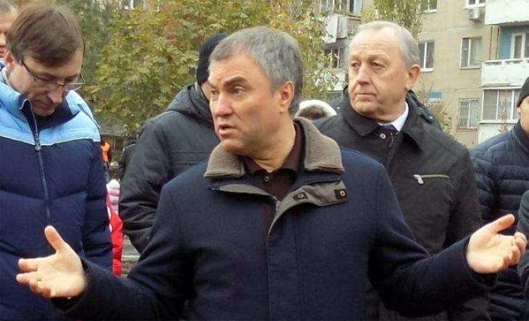 Помешает ли предвыборной кампании Володина скандал вокруг Бондаренко