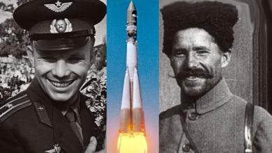 Как Гагарин и Чапаев вместе космос покорили