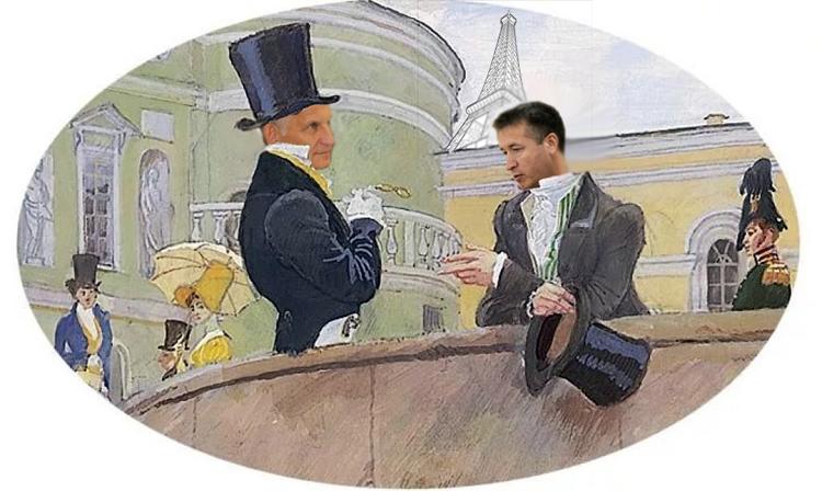 «Ах, милый Ваня, я гуляю по Парижу…» Соловьев отчитался перед облдепами о своих заграничных поездках
