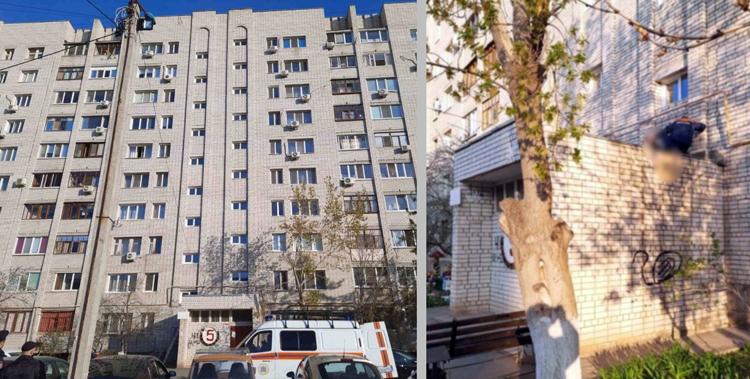 В Балаково пенсионер разбился насмерть, упав с 10-го этажа