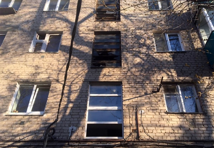 В Балаково на пожаре пострадал 8-месячный ребенок