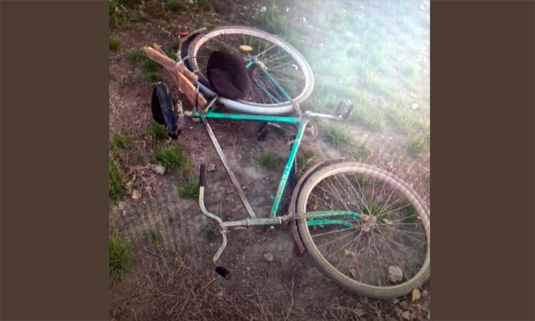 Вчера вечером в Балаково иномарка сбила 82-летнего велосипедиста