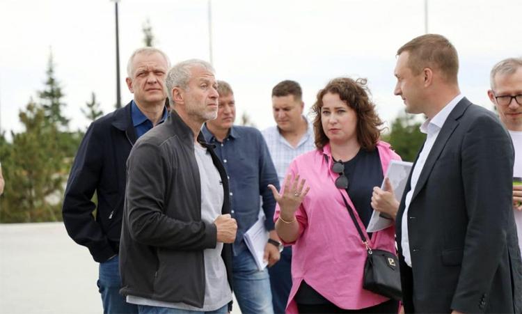 Парк покорителей космоса посетил Роман Абрамович