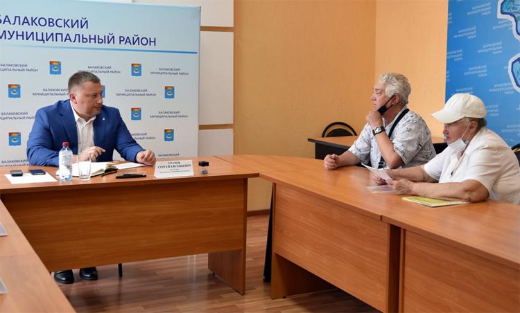 Сергей Грачев на первом личном приеме взял решение проблем граждан на личный контроль