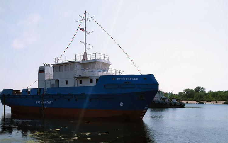 Арктический катер «Юрий Бабаев» вошел в воды балаковского судоходного канала