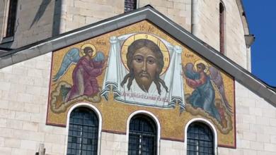 Мозаику на главном храме Балаково восстановили благодаря «ФосАгро»