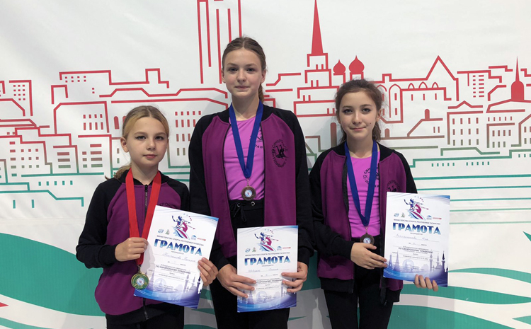 Балаковские синхронистки заняли призовые места в Казани