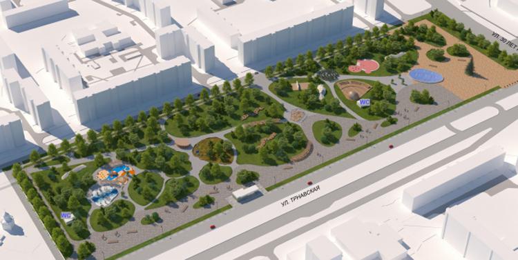Деньги на строительство парка между 5 и 8 микрорайонами в Балаково поступили в регион
