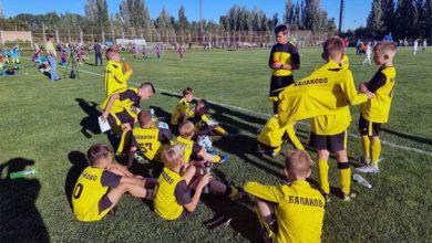 Юные балаковские футболисты завоевали в Тольятти 1-е место Бронзовой лиги