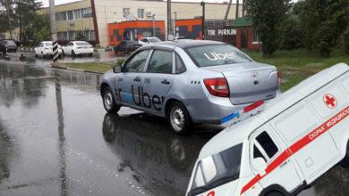 Сегодня в Балаково таксист сбил на переходе пенсионерку