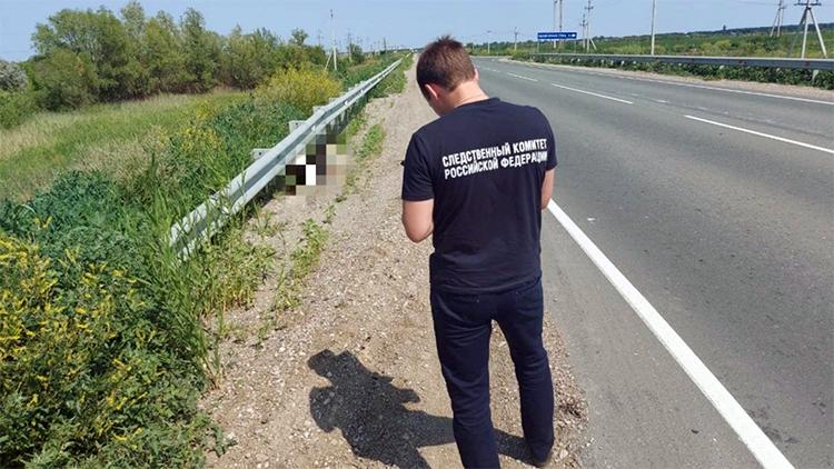 Труп на обочине: балаковские следователи проводят проверку