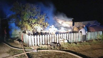 В страшном пожаре в селе Наумовка погибли двое взрослых и трое детей